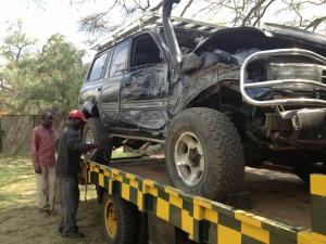 Beast off to Nairobi on the AA Ambulance