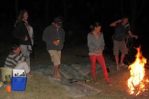 Sundowners turn into Bonfire Benders