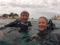 Dive Buddies - Mat & Lesanne