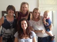 Esme, Lesanne, Jane and Sha