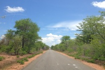 Road from Lusaka to Kariba