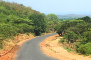 Road between Chipata and South Luangwa - decent!