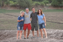Happy travellers - Estelle, Chris, Ryan and Shara