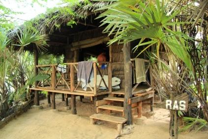 Grass Hut Accommodation