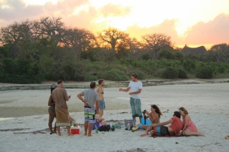 Sundowners at Tiwi River Mouth