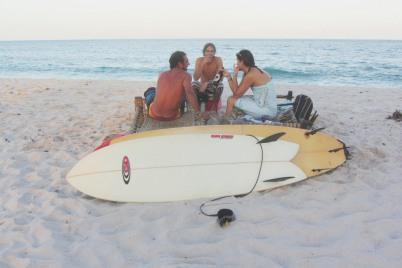 Surfing Tiwi