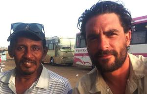 Moez, Lev's guide and walking companion for the 1000 mile walk through Sudan.