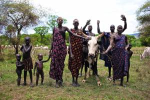 Mundari Cattle Keepers