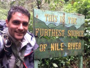 Source of the Nile in Rwanda