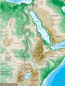 Walking the Nile Route