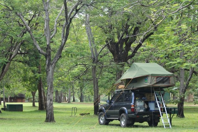 Charara Campsite on Lake Kariba