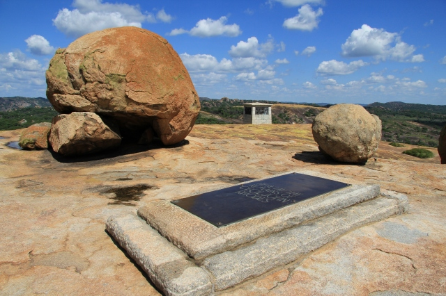 Cecil John Rhodes' Grave at Matopos National Park