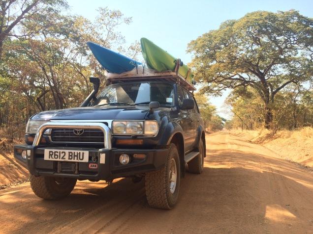 Road from Tabora to Katavi